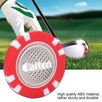 Poker Chip Ball Marker ABS Magnetic Cap Hat Clip Level Marker er Gift