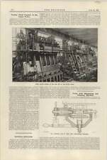 1921 Testing Diesel Engines In Sulzer Works