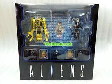 Medicom Toy Kubrick Aliens BoxSet [ Ripley, Powerloader, Alien Queen, Warrior ]