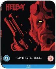 Hellboy Blu-ray Steelbook Le Artwork UK Region Factory
