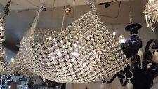 Crystal Basket Chandelier