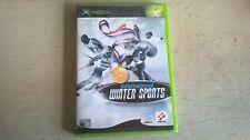 ESPN International Winter Sports-Spiele Original Xbox Spiel-Schnelle Post