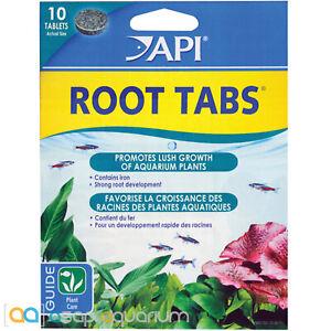 API Root Tabs 10 Count Aquarium Plant Fertilizer for Strong Roots Vibrant Colors