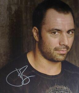 Joe Rogan Hand Signed 8x10 Photo W/ Holo COA UFC