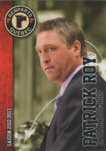 2012/13 Quebec Remparts Update - PATRICK ROY [Head Coach]