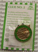 Disney Pin Dlr Pin Quest Scavenger Hunt 2016 Tomorrowland Little Green Men