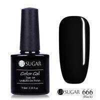 7.5ml UR SUGAR Soak Off UV Gel Nail Polish Nail Art Gel Varnish  Tips 666