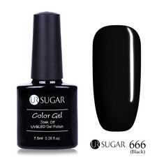 7.5ml UR SUGAR Soak Off UV Gel Nail Polish Nail Art Gel Varnish Pure Color 666