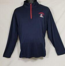 Arizona Wildcats Blue Men's Long Sleeve Pullover Shirt Size Large