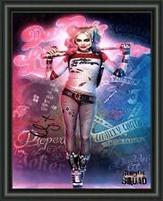 Margot Robbie - Harley Quinn - Signed A4 Photo Poster - FREE POSTAGE