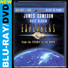 Explorers: From the Titanic to the Moon (Blu-ray/DVD) Buzz Aldrin, James Cameron