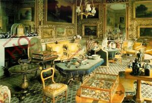 Picture Postcard> Calke Abbey, the Drawing Room