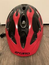 Giro Kids Adjustable Bike Helmet Red/black Unisex
