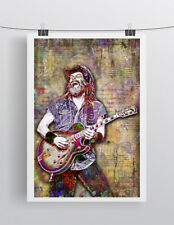 TED NUGENT Tribute 24x36in Poster, Ted Nugent Pop Art  Free Shipping Us