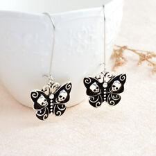 Fashion Hanging Earrings Jewelry Skeleton Butterfly Vintage Earrings For Women