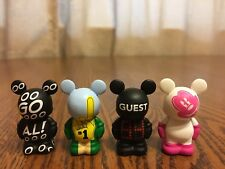 Disney Vinylmation Jr  Oh Mickey! Pink & Sports Goooal Foam Finger Score No Clip