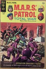 M.A.R.S. Patrol Total War #10 (1969) Gold Key Comics Vg+
