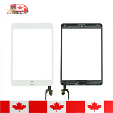 iPad Mini 3 White Touch Screen Digitizer Replacement With Home Button & Adhesive