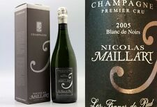 3 BT. CHAMPAGNE LES FRANCS DE PIED 2012 PINOT NERO EXTRA BRUT N. MAILLART