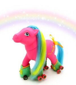 ⭐️ My Little Pony ⭐️ G1 Vintage Euro Rollerskates Melody Gorgeous!