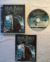 Harry Potter and the Half-Blood Prince (PlayStation 3, 2009) CIB -ZERO SCRATCHES