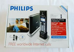 Philips VOIP4331B/37 DECT Windows Live  Phone System 1 Handset New Open Box