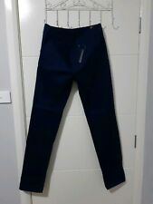 """ASOS Navy Chino Slim Fit Pants *BRAND NEW WITH TAGS* Sz 31"""" RRP $79"""