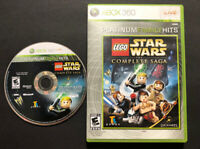 LEGO Star Wars: The Complete Saga - Microsoft Xbox 360, Platinum Hits, TESTED