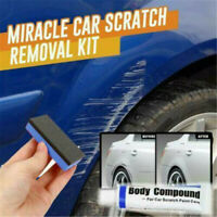 Car Remover Scratch Repair Paint Body Compound Paste Touch Up Clear Remover Kit@