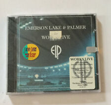 Emerson Lake and Palmer-Works Live-CD Jewel Case Sealed