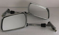 Pair Vintage Chrome TOYO Side Mirrors Motorcycle 001156
