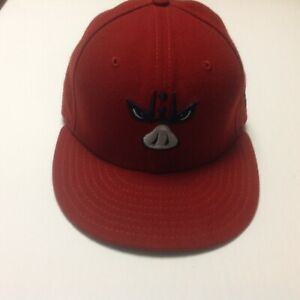 Lehigh Valley Iron Pigs New Era Ball Cap Fitted 6 3/4