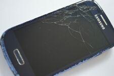 Samsung Galaxy S III Mini GT-I8190 - 8GB - Pebble Blue (Vodafone) CRACKED SCREEN