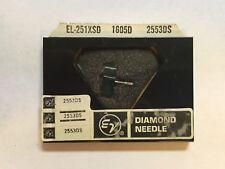 Elac/perpetuum-ebner DMSN102 S D Phono Needle in Electro-voice Pkg 2553ds NOS