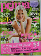 Prima Magazine July 2012. Smooth glowing skin. Low cal & delicious under 500cals