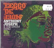 ANTHONY JOSEPH & THE SPASM BAND  -  LEGGO DE LION.   /   DIGIPAK EDITION. IMPORT