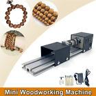 100W 12-24V Mini Lathe Beads Polisher Machine Woodworking Craft DIY Rotary Set