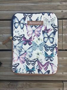 GORGEOUS BUTTERFLY PRINT TABLET CASE BY ACCESSORIZE