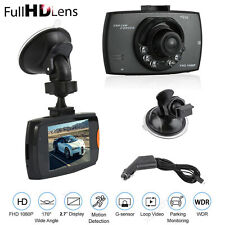 Fulll HD 1080P Car DVR Dash Cam Vehicle Camera Video Recorder G-sensor 2.7'' USB
