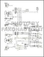 1976 GMC Chevy 9000 9500 Conventional Wiring Diagram Foldout Detroit 8V-71