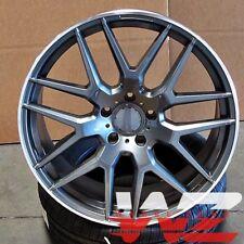 "22"" Wheels For Mercedes G Wagon G400 G450 G500 G550 22X10 Gunmetal Rims Set 4"