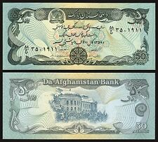 Afganistan - Afghanistan  50 Afghanis  1979  Pick 57a2  SC = UNC