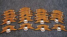 Vintage harley davidson wing sew on patch