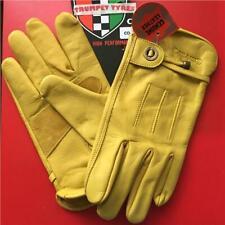 Motorrad Roller Wasserdicht CORAZZO Cordero Qualität Tan Leder Handschuhe Groß