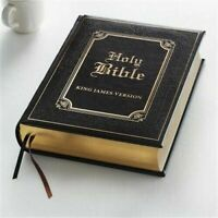 KJV Holy , Family Bible Brown Faux Leather King James Version BRAND NEW