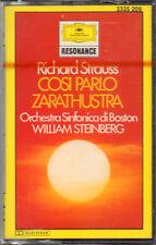 "WILLIAM STEINBERG "" R.STRAUSS: COSI' PARLO' ZARATHUSTRA "" MUSICASSETTA SIGILLATA"