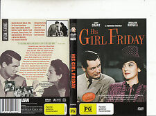 His Girl Friday-1940-Cary Grant-Movie-DVD