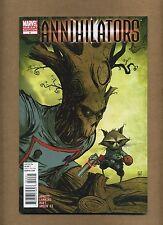 Annihilators #4 (Sharp!) Rocket Raccoon; Groot; Skottie Young variant (c#13224)