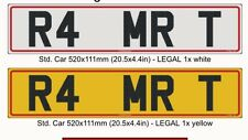 Private personalised number plate MRT RAM MART MR T R4 MRT MARTIN