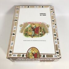 New listing Romeo y Julieta Deluxe #1 Wooden Cigar Box Euc Collectible Tobacco Craft Euc